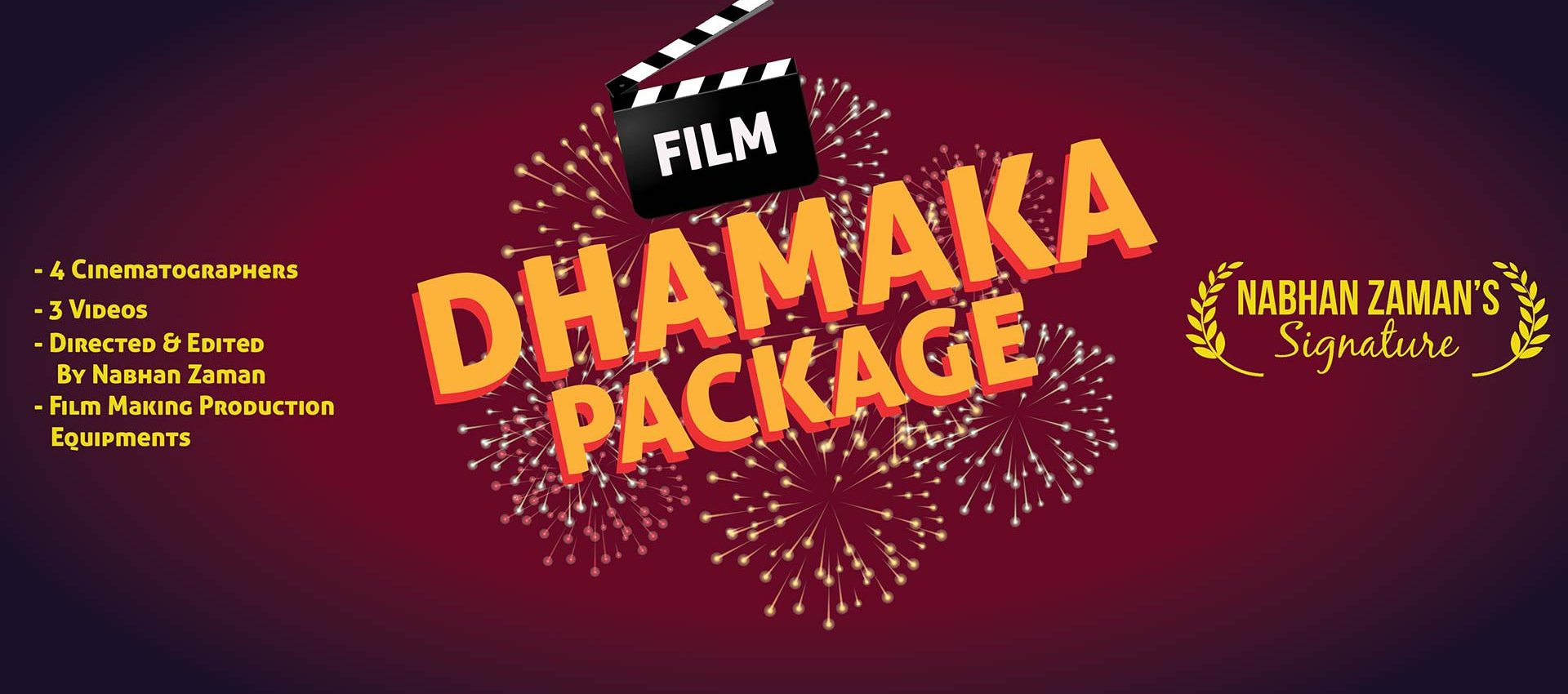 Dhamaka Package Cinematography